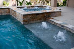 Custom Pool/Jacuzzi