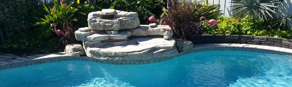 Pools & Concrete Water Features